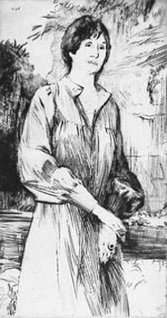 Patricia Beer - Patricia Beer Dry-point by George Adamson RE