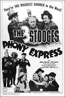 <i>Phony Express</i> 1943 film by Del Lord