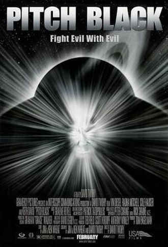 Pitch Black (film) - Theatrical release poster