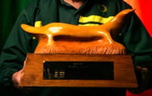 Platypus Trophy - Platypus Trophy following restoration in 2007