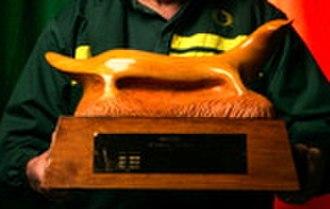 Platypus Trophy - Platypus Trophy following restoration in 2007