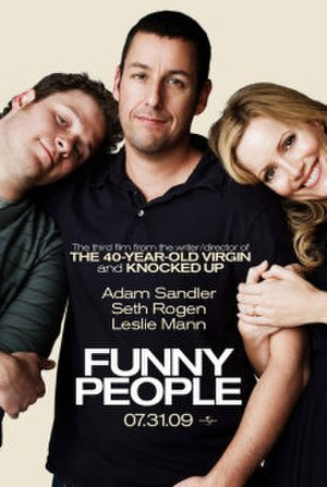 Funny People - Theatrical release poster
