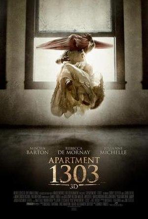 Apartment 1303 3D - Promotional poster