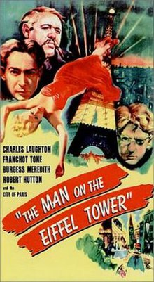Poster of the movie The Man on the Eiffel Tower.jpg