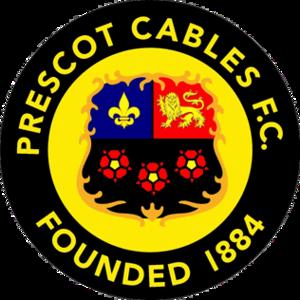 Prescot Cables F.C. - Image: Prescot Cables F.C. logo