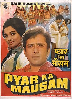 <i>Pyar Ka Mausam</i> 1969 Indian film directed by Nasir Hussain