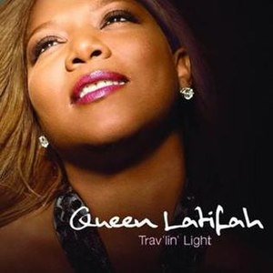 Trav'lin' Light (Queen Latifah album) - Image: Queen Latifah Trav'lin' Light