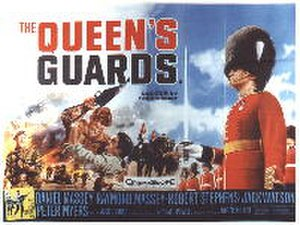 The Queen's Guards (film) - theatrical poster