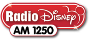 "WPGP (AM) - WDDZ's logo as ""Radio Disney AM 1250"", used from 2011 until 2013"