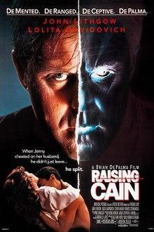 Raising Cain - Wikipedia Raising Cain