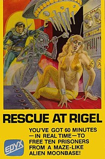 <i>Rescue at Rigel</i> 1980 video game