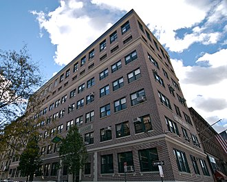 Rice High School (Manhattan, New York) - The edifice of the former Rice High School.