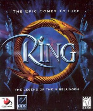 Ring (video game) - Cover art of Ring