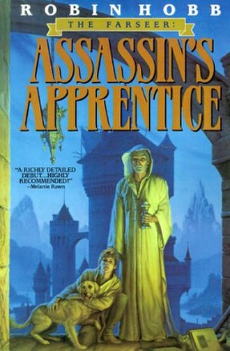 Assassin's Apprentice - UK first edition cover (Voyager)