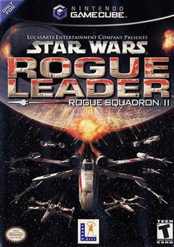 Several futuristic aircraft flee an exploding, spherical structure in outer space; the game's logo appears above the scene.