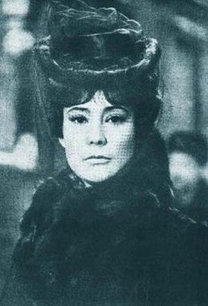 Tatiana Samoilova as Anna Karenina.