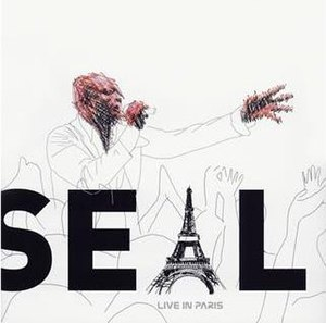 Live in Paris (Seal album) - Image: Seal Live In Paris