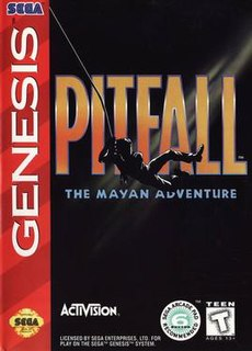 <i>Pitfall: The Mayan Adventure</i> 1994 video game