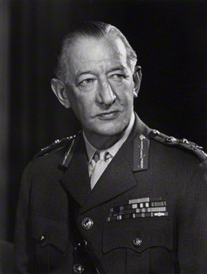 James Cassels (British Army officer) - General Sir James Cassels in 1968