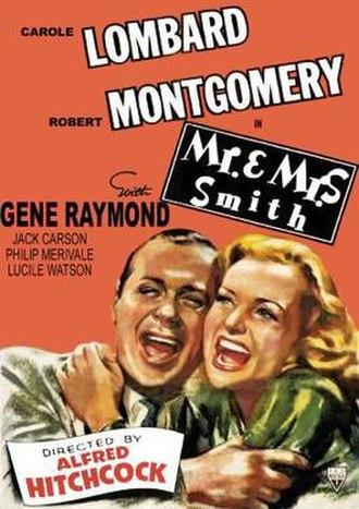 Mr. & Mrs. Smith (1941 film) - Original theatrical release poster