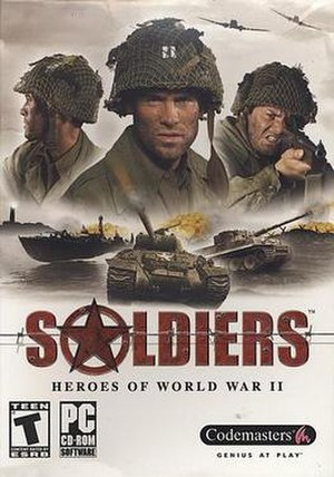 Soldiers: Heroes of World War II - Image: Soldiersbox