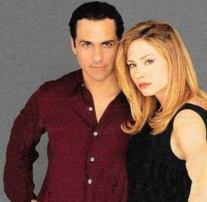 Sonny Corinthos and Carly Benson - Sonny and Carly (Maurice Benard and then-Sarah Brown)