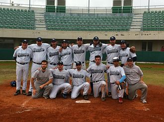 Spartakos Glyfadas - The 2012 Spartakos team that won the Greek championship