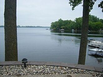 Spicer, Minnesota - Nest Lake in Spicer - June 2008