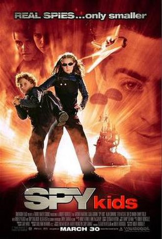 Spy Kids - Theatrical release poster
