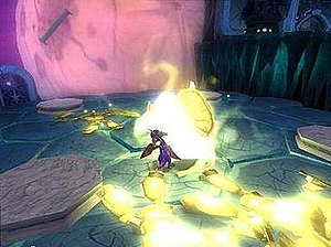 The Legend of Spyro: The Eternal Night - A screenshot from the game.