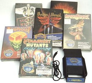 Starpath Supercharger - The Supercharger and a few game boxes