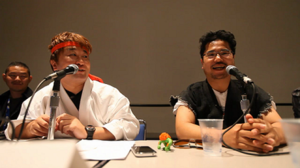 Street Fighter X Tekken - Yoshinori Ono and Tekken producer Katsuhiro Harada discussing the crossover games plans at San Diego Comic-Con 2010