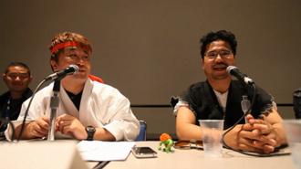 Street Fighter X Tekken - Yoshinori Ono and Tekken producer Katsuhiro Harada discussing the crossover games plans at San Diego Comic-Con 2010