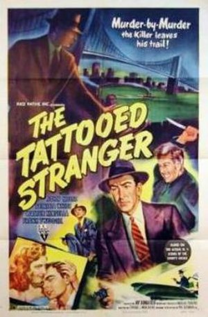 The Tattooed Stranger - Theatrical release poster