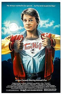 <i>Teen Wolf</i> 1985 American fantasy comedy film