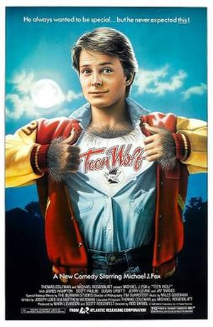 Teen Wolf - Theatrical release poster