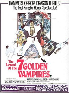 <i>The Legend of the 7 Golden Vampires</i> 1974 film by Chang Cheh, Roy Ward Baker
