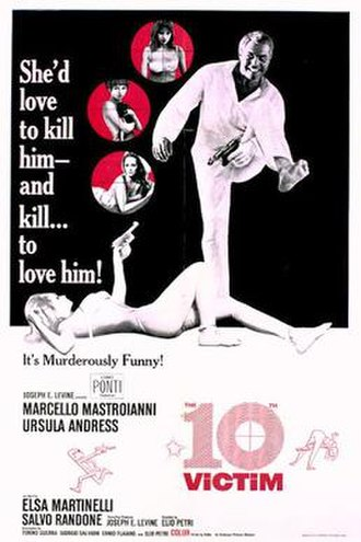 The 10th Victim - US film poster