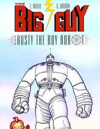 The Big Guy and Rusty the Boy Robot - Cover art by Geof Darrow.