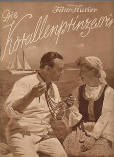 <i>The Coral Princess</i> 1937 film directed by Victor Janson