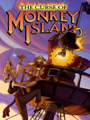 The Curse of Monkey Island - Image: The Curse of Monkey Island artwork