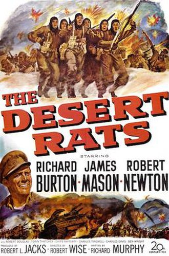 The Desert Rats (film) - Theatrical release poster