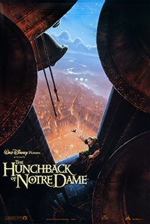 <i>The Hunchback of Notre Dame</i> (1996 film) American animated musical drama film