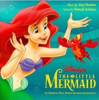 The Little Mermaid (soundtrack) - Image: The Little Mermaid 1997 Cover