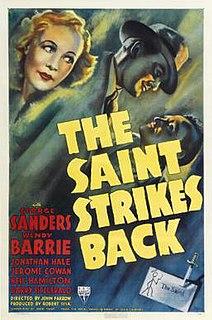 <i>The Saint Strikes Back</i> 1939 film by John Farrow