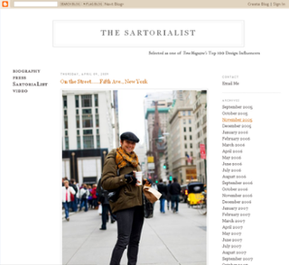 <i>The Sartorialist</i>