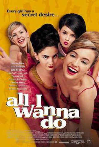 All I Wanna Do (1998 film) - Poster featuring the title All I Wanna Do.