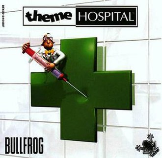 Theme Hospital - North American PC cover art