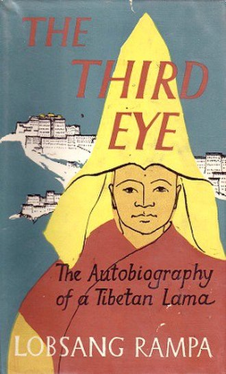 Lobsang Rampa - Original 1950s cover of The Third Eye