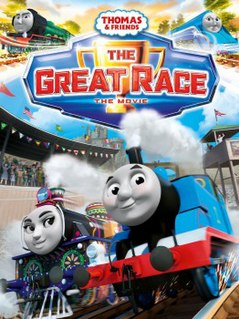 <i>Thomas & Friends: The Great Race</i> 2016 film directed by David Stoten